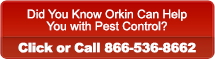Did You Know Orkin Can Help <p>You with Pest Control? Click or Call 866-536-8662